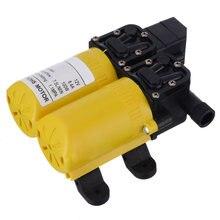Автоматический самовсасывающий водяной насос dc 12v 100w мембранный