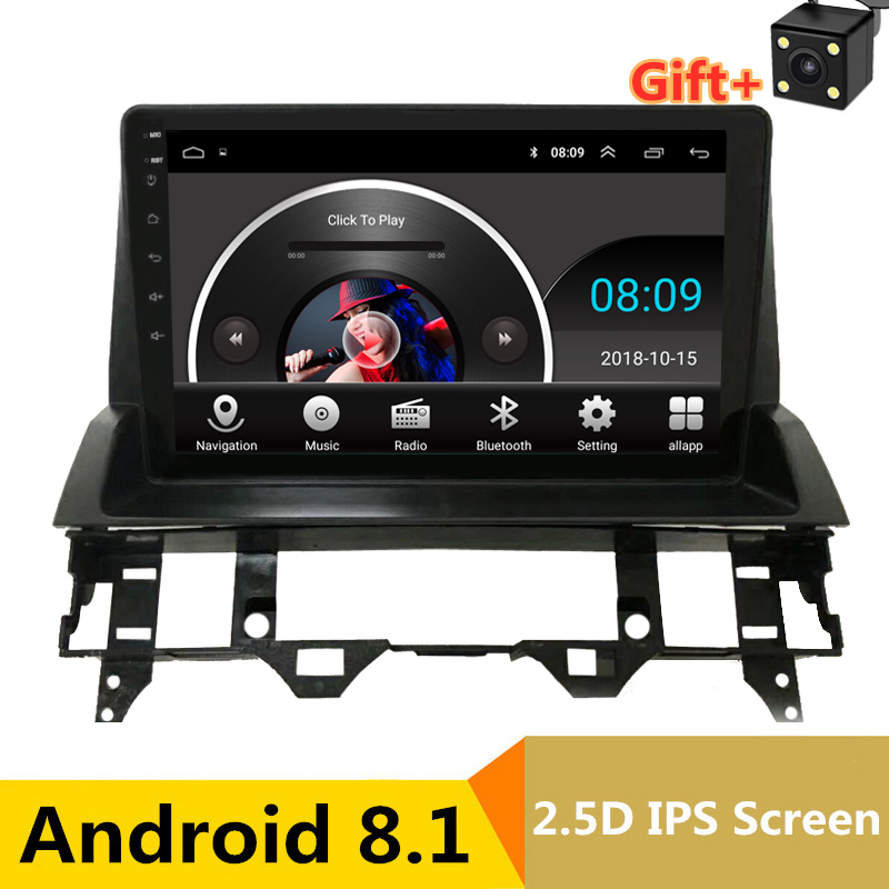 9 2.5D IPS Android 8.1 Car DVD Multimedia Player GPS for Mazda 6 2002-2006 2007 2008 2009 audio car radio stereo navigation9 2.5D IPS Android 8.1 Car DVD Multimedia Player GPS for Mazda 6 2002-2006 2007 2008 2009 audio car radio stereo navigation