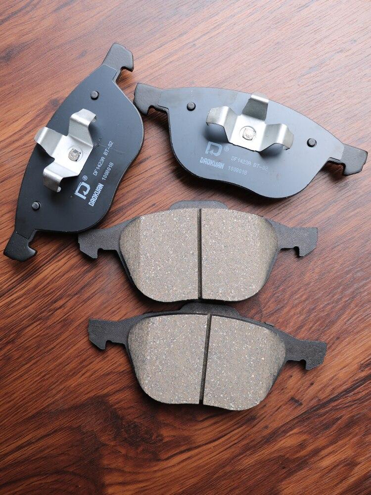 1 paire/kit plaquettes de frein avant/arrière ensemble auto voiture PAD KIT frein à disque pour MAZDA 3 FAW Pentium Automobile moteur partie C2Y3-33-23ZA
