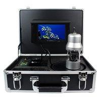 Anysun 1/3 дюймов Sony CCD подводная рыбалка Камера 360 градусов, пульт дистанционного управления Управление, 7 дюймов ЖК дисплей монитор, 14x белый све