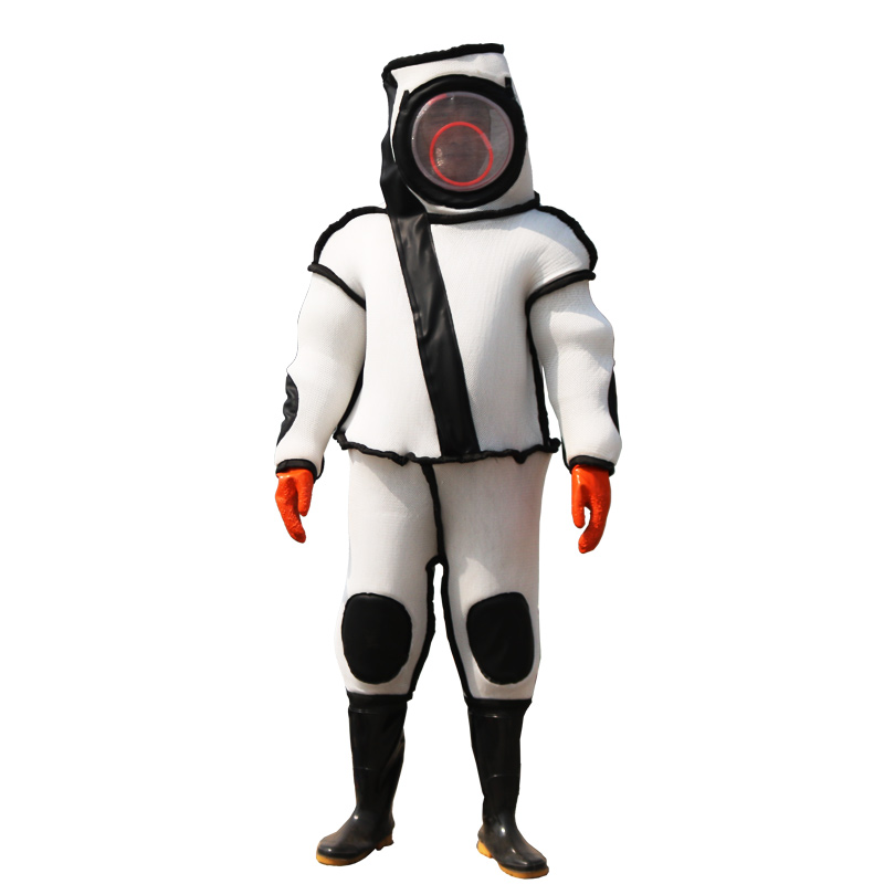 1PCS Wasp suit Vespa Protective clothing Special Thicken Heat Ventilation Complete set Siamese Anti-bee suit Fire service Horse