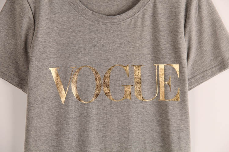 HTB1bXfyJVXXXXaPaXXXq6xXFXXXi - VOGUE Printed T-shirt Women Tops Tee Shirt Femme New Arrivals