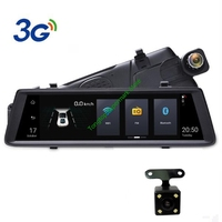 3G Android 5.0 GPS Navigators FHD 1080P Video Recorder Mirror Dashcam Rearview Mirror with DVR and Camera