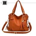 2017 Hot sale Quality Leather Tassel Bag Shoulder Bags Women Messenger Bags Women Handbag