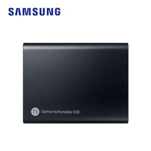 Image 5 - סמסונג T5 נייד SSD 250GB 500GB 1TB 2TB USB3.1 חיצוני מצב מוצק כונני USB 3.1 Gen2 ואחורה תואם עבור מחשב
