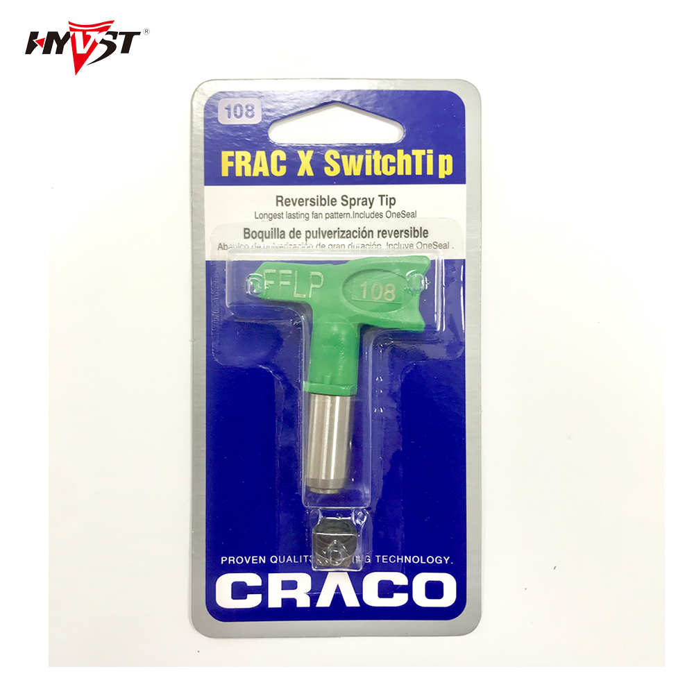 Airless Tips  FRAC108/210/212/310/312/412 Tip Nozzle Nozzle Fine Finish Low Pressure  Tip For Airless Paint Spray Guns