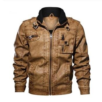 BZBFSKY brand high quality motorcycle leather jacket men mens leather jackets coats Men Jaqueta De Couro Masculina L-5XL