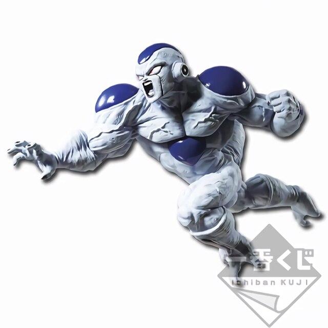Tronzo Original Banpresto Figura Freeza Dragon Ball Super Z-BATTLE Full Power PVC Modelo Figura de Ação Brinquedos Figuras DBZ Frieza