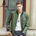 Pioneer Camp 2017 Новые люди куртки Армия зеленый Камуфляж в стиле Милитари пальто Высочайшее качество Весна мужчина Куртка brand clothing 677116