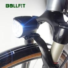 BOLLFIT ไฟฟ้า 36V 48V EBike LED 150LM แฟลชสำหรับ Electric BIKE Conversion Kit