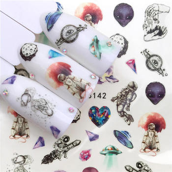 LCJ 2020 New Arrivial Nail Stickers Water Decal Animal / Flamingo / Flower 3D Manicure Sticker Nail Water Sticker lcj 1pc nail stickers water decal animal flower plant pattern 3d manicure sticker nail art decoration