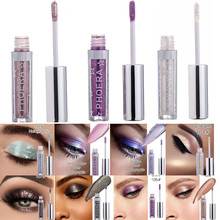 2019 Hot 12 Color Glitter Eyeshadow Eye Shadow Makeup Magnificent Metals and Glow Liquid тени