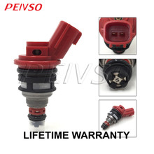 цена на PEIVSO High Flow performance 1000cc fuel injector for NISSAN 92-99 Altima Silvia 180sx SR20 S13 S14 S15 200sx