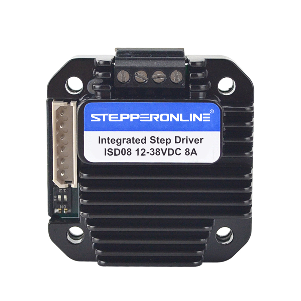 Integrated Stepper Motor Driver 3-8A 12-40VDC for NEMA 23,24,34 Stepper MotorIntegrated Stepper Motor Driver 3-8A 12-40VDC for NEMA 23,24,34 Stepper Motor