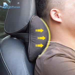 Image 4 - AIRSPEED Leather Car Pillow Neck Pillow Headrest Accessories Universal for BMW ///M E46 E90 E92 E60 E39 E36 F30 F10 F20 G30 E87