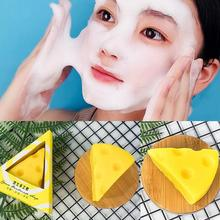 Buy Mini Remove Acne Cheese Facial Soap With Foaming Net Skin Cleansingsoap Cheese Milk Soap Bath Wash Face Soap Refreshing Handsoap directly from merchant!