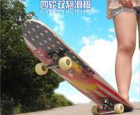 Primary Double Rocker Skate Board Four wheel skateboard