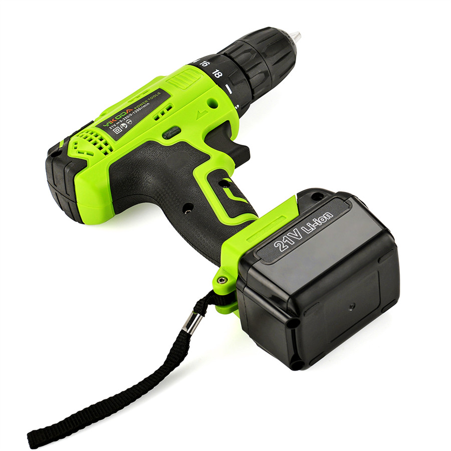 Image 4 - YIKODA 21V Electric Drill Lithium Battery DIY Mini Rechargeable Drill Double Speed Cordless Drill Household Power Tools-in Electric Drills from Tools on
