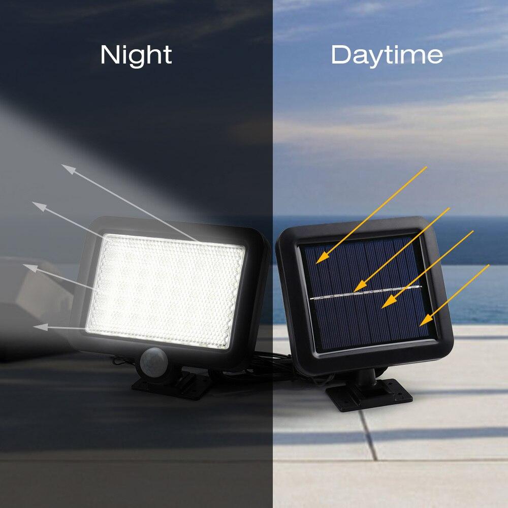 de iluminacao luzes parede deteccao movimento solar lampada solar 04
