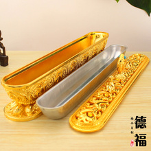 Buddhist Supplies Free Shipping Tibet Lying Incense Burners Fancy Gorgeous Copper Auspicious Treasures Animals Incense Smoke