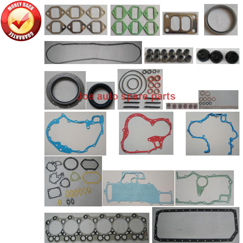 NEW REPLACEMENT MITSUBISHI 6D34 6D34T ENGINE GASKET KIT EXCAVATOR SK200-5 230-5