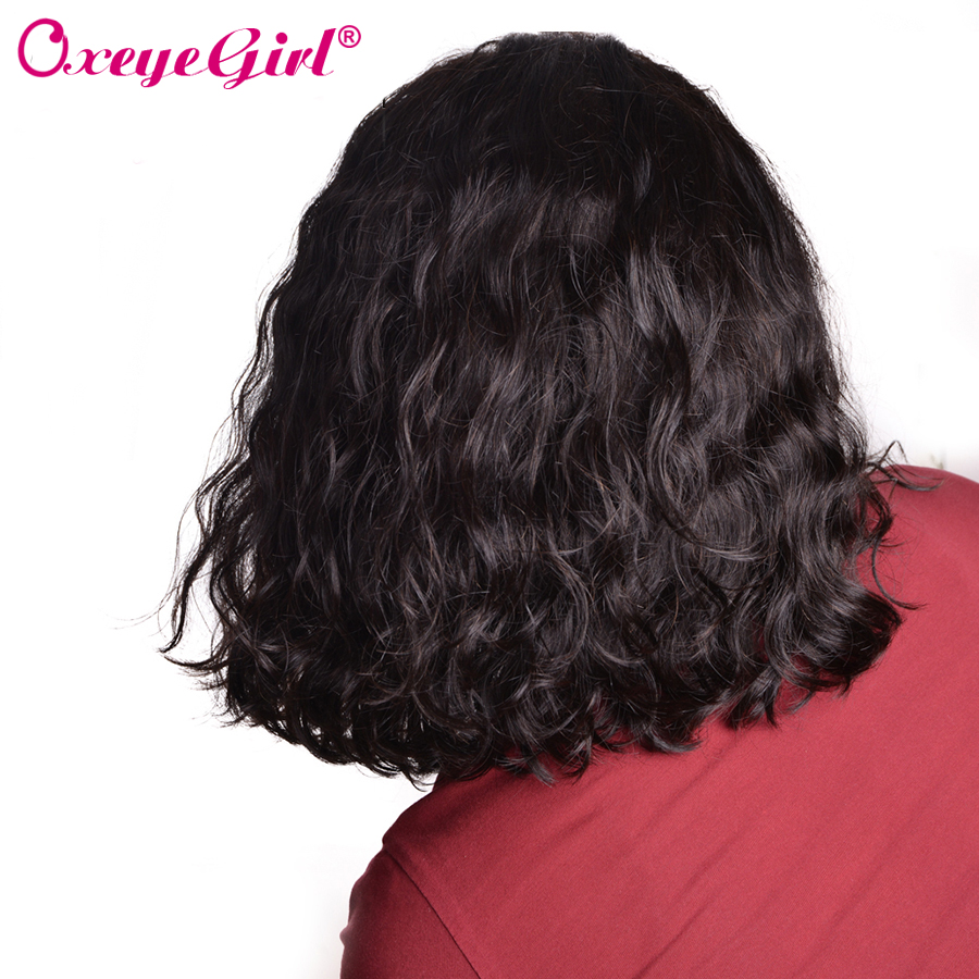 Bob Lace Front Wigs For Black Women Curly Bob Human Hair Wig 13x6 Lace Front Wig