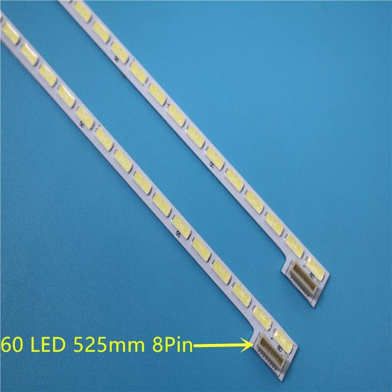 New 2 PCS/lot 60LED 525mm LED Strip For 42LS5600 42LS560T 42LS570S 42LS575S T420HVN01.0 LG Innotek 42Inch 7030PKG 60ea