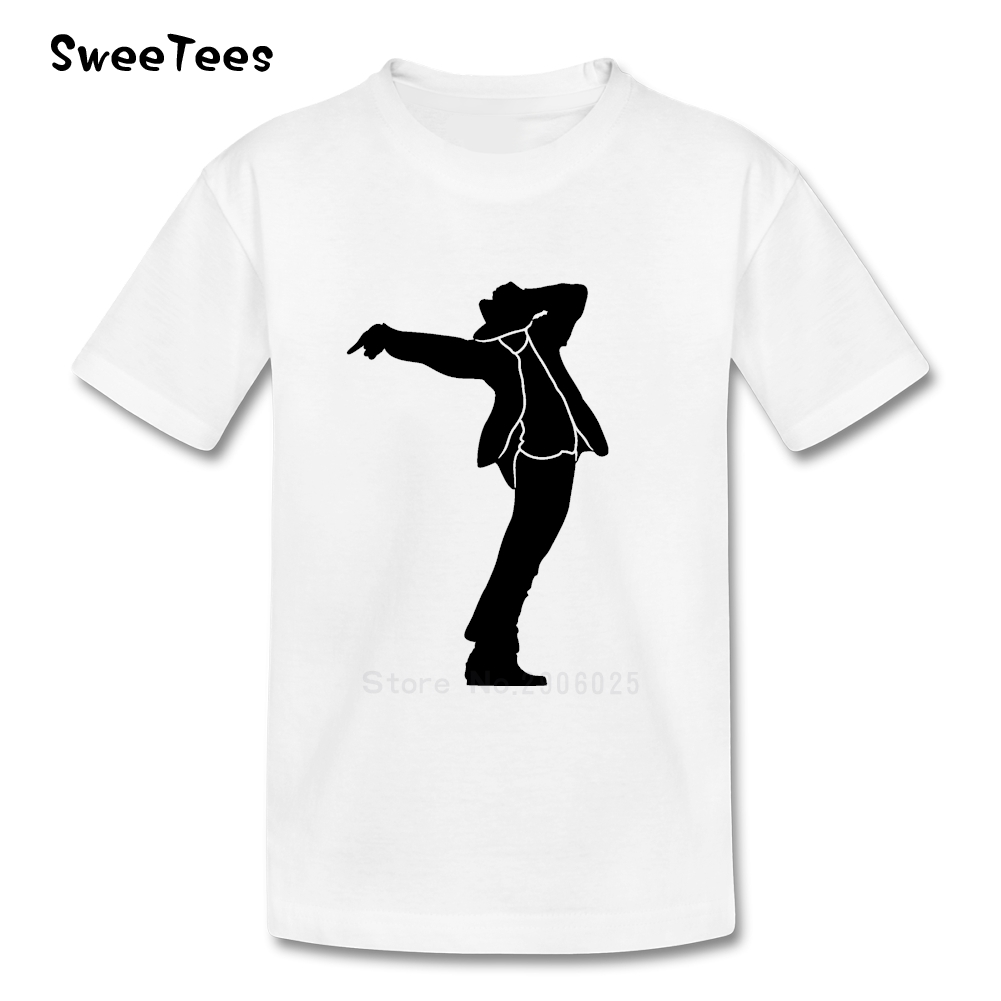 Black t shirt michaels - Michael Jackson T Shirt Kids Cotton Short Sleeve Round Neck Tshirt Children Tee Shirt 2017
