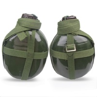 Aluminum Big Capacity 1 3L Army Green My Kettle Water Sport Growler Camping Drinkware Drink Garrafa