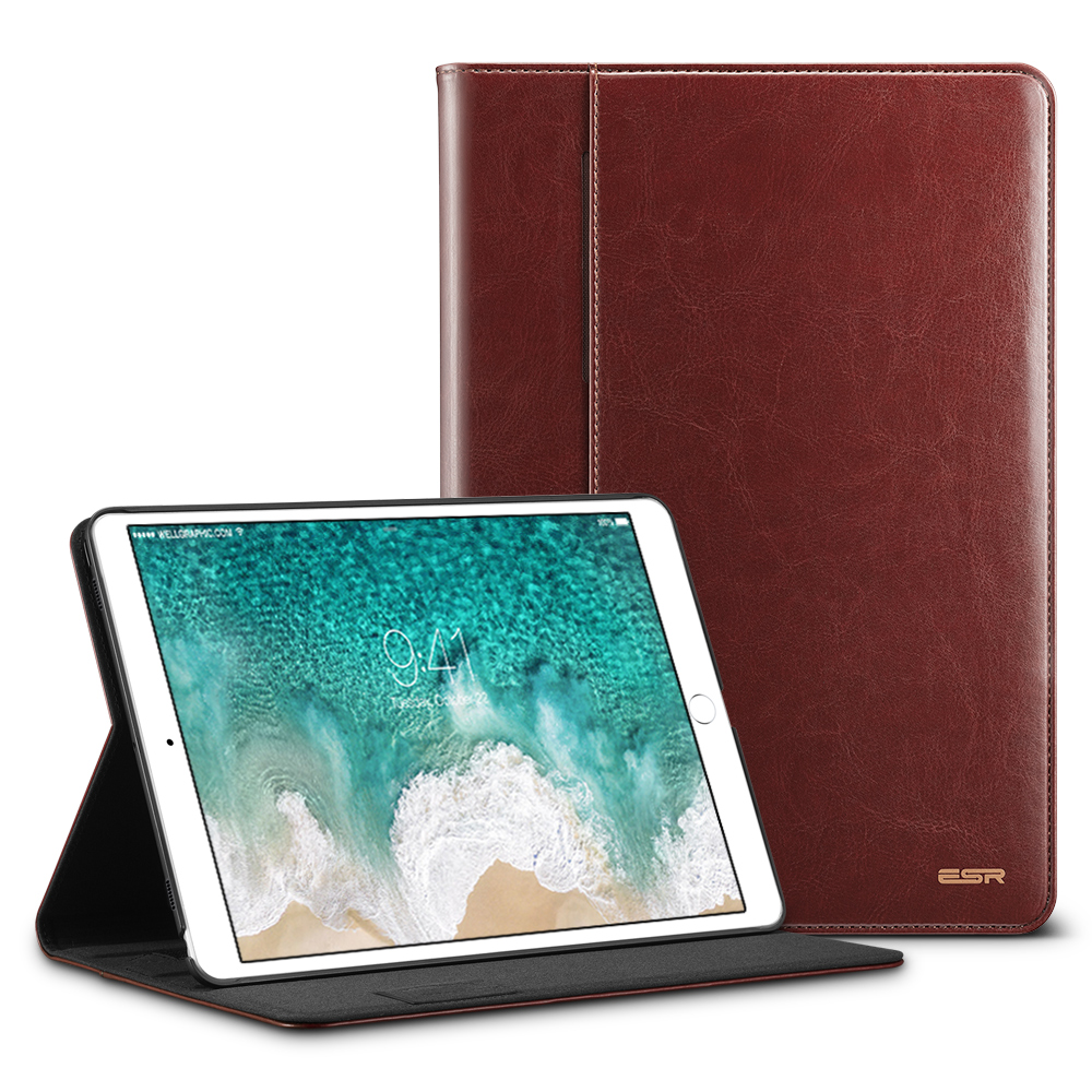 Case For Ipad Pro 10.5 Cover Premium PU Leather Luxury Business Folio Stand Pocket Auto Wake Smart Cover For Ipad Pro 10.5
