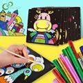 15 teile/satz Märchen DIY Magie Transfer Wticker Transfer Malerei Handwerk für Kinder Kunst Und Handwerk Spielzeug für Kinder Geschenk GYH