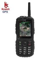 Оригинальный A17 IP67 прочный Водонепроницаемый с мобильным телефоном на базе Android gps Zello PTT 3g сетевой интерфейсный GSM старший старик мобильный т...