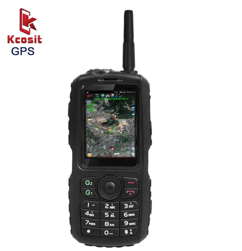 Original A17 IP67 Rugged Waterproof Phone Android GPS Zello PTT 3G Network intercom GSM Senior old man Mobile phone mini F22 F25