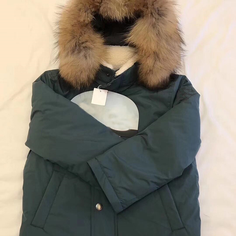 Kids down jacket duck down coat with real fur for Children winter warm outwear tops girls down coat clothes in middle of October high quality real fur female winter in the new middle aged down jacket women white duck down sundae feather thick coat l 5xl