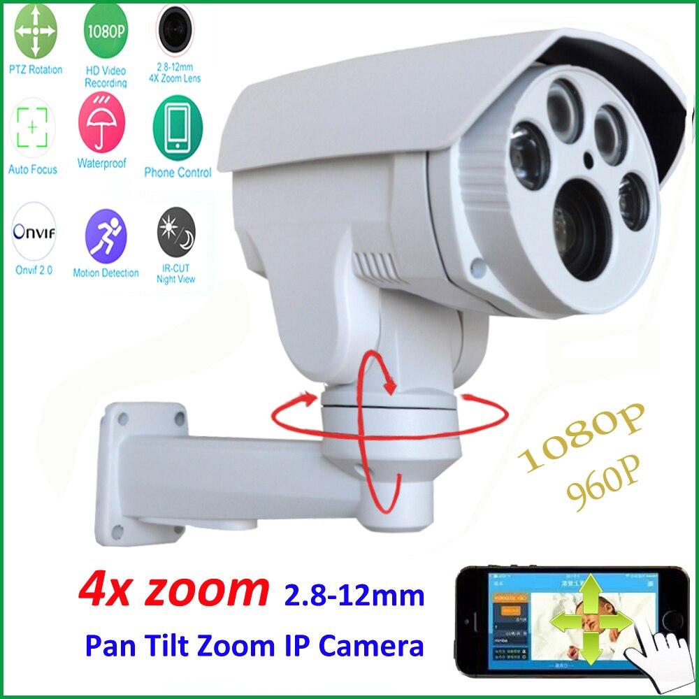 imágenes para HI3516C + SONY IMX222 Owlcat HD 1080 P 4X Zoom Automático 2.8-12mm Varifocal lente de Seguridad CCTV PTZ Al Aire Libre Cámara ip IR cut Onvif RTSP