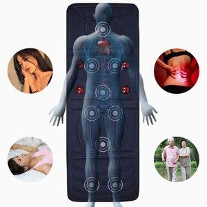 Image 5 - Massage mattress cervical massage device neck massage cushion for home full body massage Quick shipment