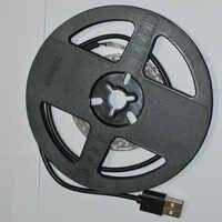 Envío gratuito LED luz de la noche de DC5V con puerto USB Cable 5 M 10 M USB LED Luz de tira de la lámpara SMD 3528 para TV/PC