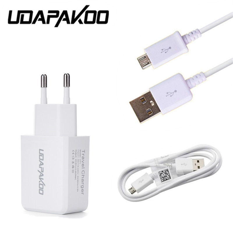 5V 2A EU/US travel Charger adapter + Micro USB Cable For Samsung Galaxy S6 A3 j5 j7 huawei p9lite LG g3 g4 k10 moto x play power