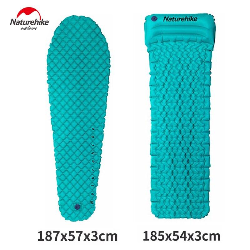 自然ハイキング超軽量睡眠パッド軽量快適な成形可能な簡単に膨張させ収縮さ TPU エアマットレスと枕  グループ上の スポーツ & エンターテイメント からの キャンバス マット の中 1