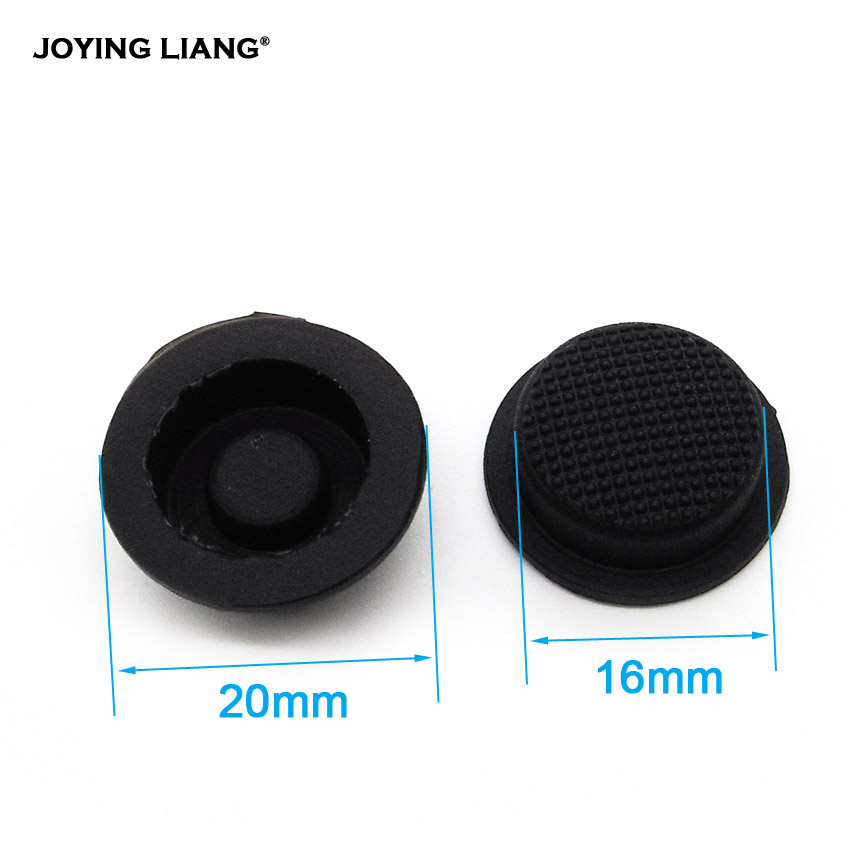 C8 Flashlight Switch Caps Black Waterproof Rubber Pad Button Cap Light 17.6mm Torches Switch Hat Accessories