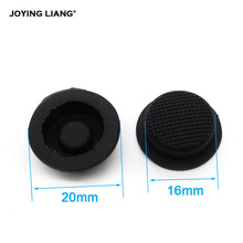 C8 Flashlight Switch Caps Black Waterproof Rubber Pad Button Cap Light 17 6mm Torches Switch Hat