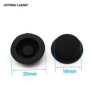 C8 przełącznik latarki czapki czarna wodoodporna podkładka gumowa nasadka na przycisk światła 17 6mm latarki przełącznik akcesoria do kapeluszy tanie i dobre opinie Rubber
