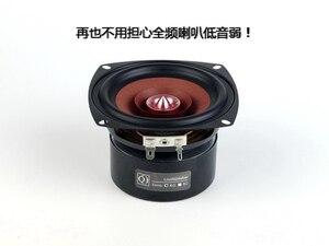 Image 4 - 2 ピース/ロット sounderlink 4 インチフルレンジモニター弾丸スピーカーハイファイウーファアルミ 2 層カプトンテープコーン