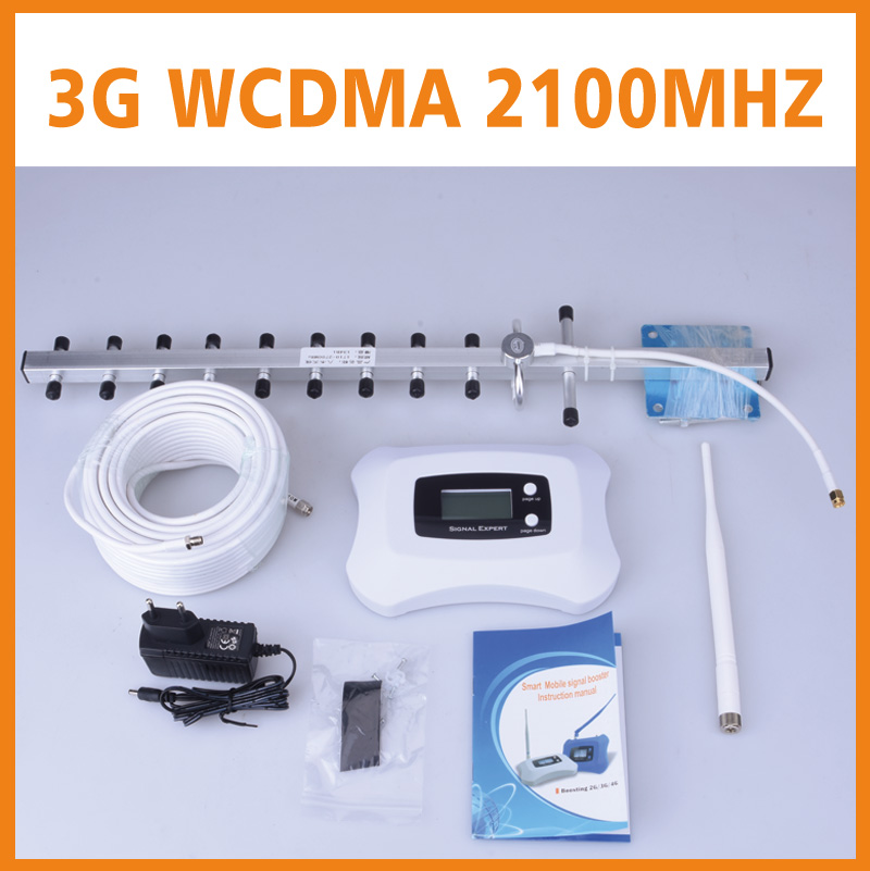 New Generation LCD Display Yagi and pen Antenna 3G mobile signal repeater booster 3G cellular signal