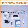 Nueva Generación! Pantalla LCD + Antena Yagi y pluma 3G repetidor amplificador de señal móvil 3G celular amplificador de señal amplificador kit
