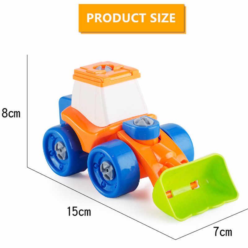 Для раннего развития винт DIY Гайка Группа установлен демонтаж экскаватор модель строительные наборы Детская игрушка, подарок
