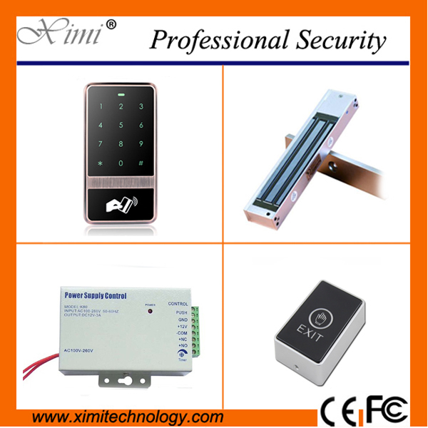 Cheap price standalone access control without sofeware door access control kit single door controllr kit cheap standalone without software f008 card access control single door access control with electromagnetic lock