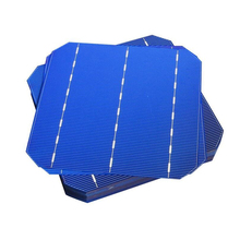 200pcs 156x156MM Mono Solar Cells High power 4.4W Monocrystalline Solar Panel