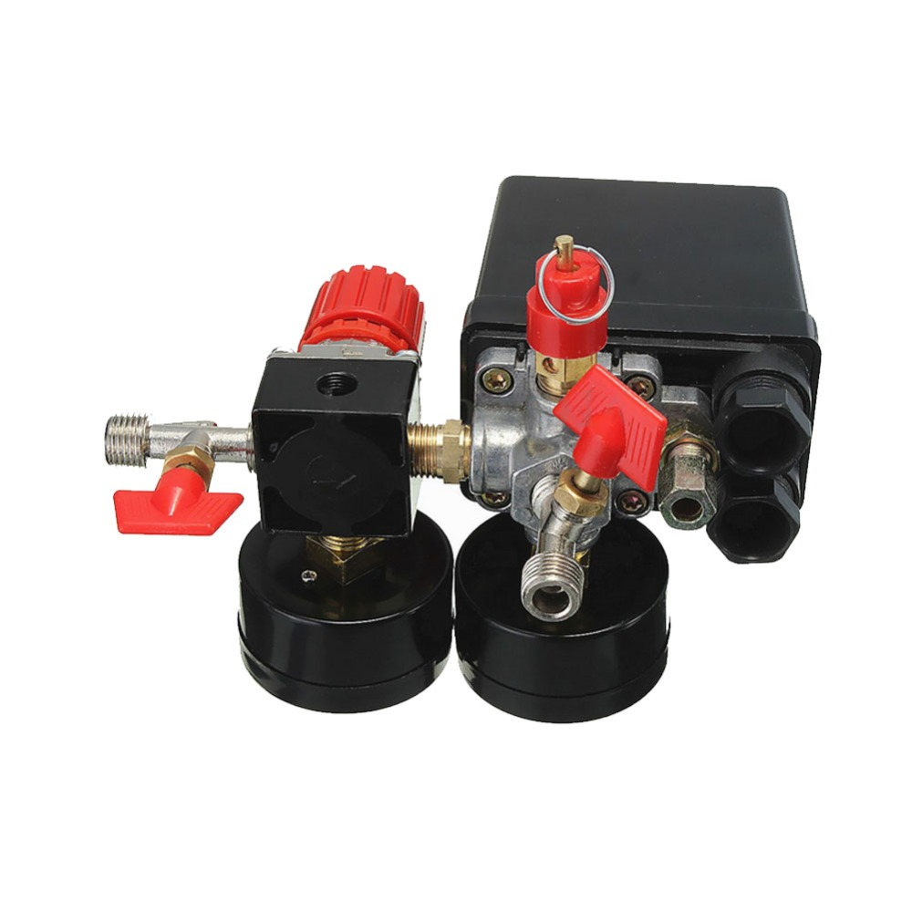 jinshengdaair compressor valvula de pressao interruptor manifold 04