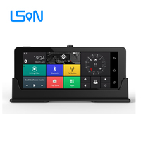 LSON 7 inch android 3G Car GPS Navigation Bluetooth Android 5.0 Navigators Automobile with DVR FHD 1080 Vehicle gps